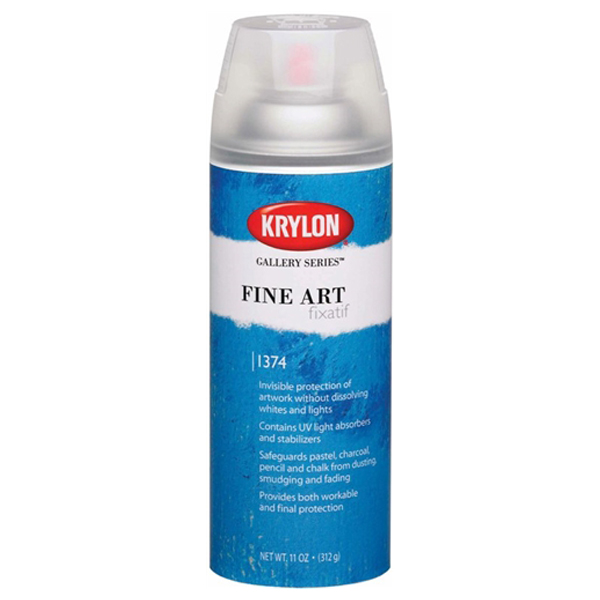 Fine Art Fixatif 311g Krylon Spray