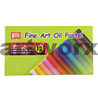 12pc Fine Art Oil Pastels
