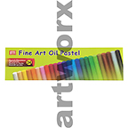 24 pc Fine Art Oil Pastels