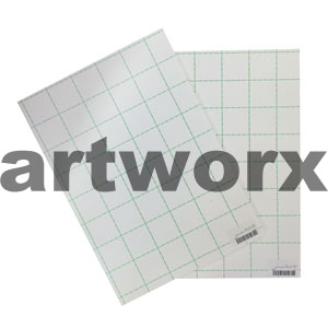 "32x40"" 5mm White Foam Board Adhesive"
