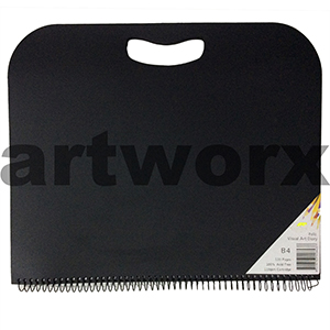 110gsm B4 60 Sheets Quill Folio Visual Diary with Handle
