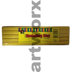 Yellow Modelling Clay 500gm EC