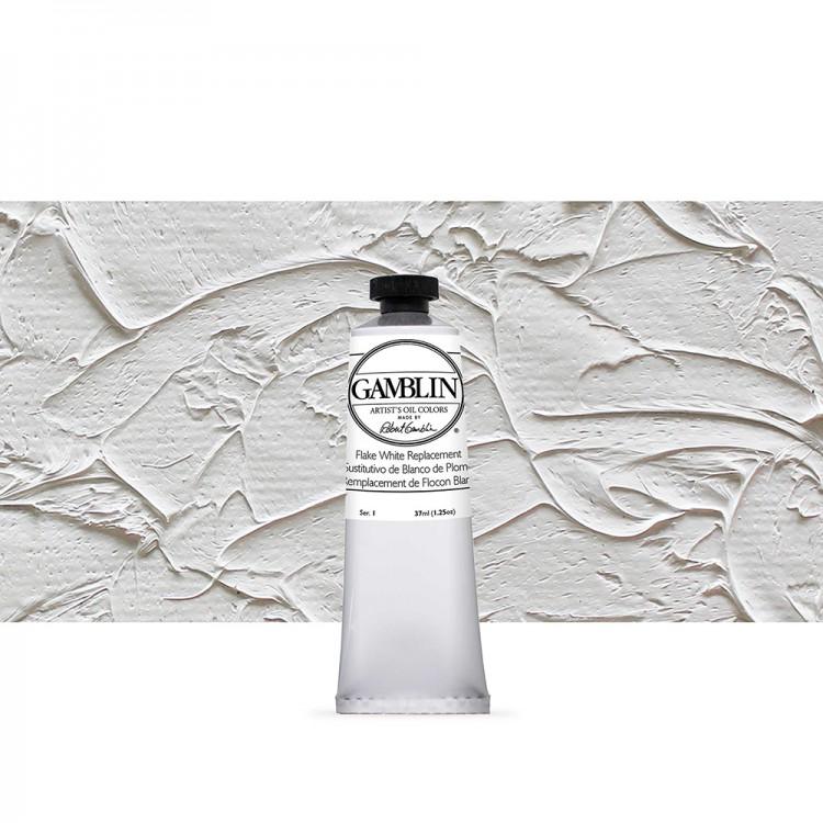 Flake White Replacement s1 37ml Gamblin Artist Oil Paint