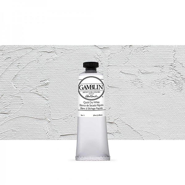 Quick Dry White Replacement s1 37ml Gamblin Artist Oil Paint