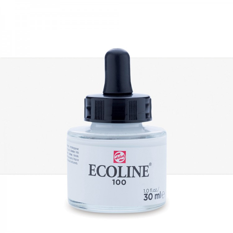 White Talens Ecoline Ink 30ml