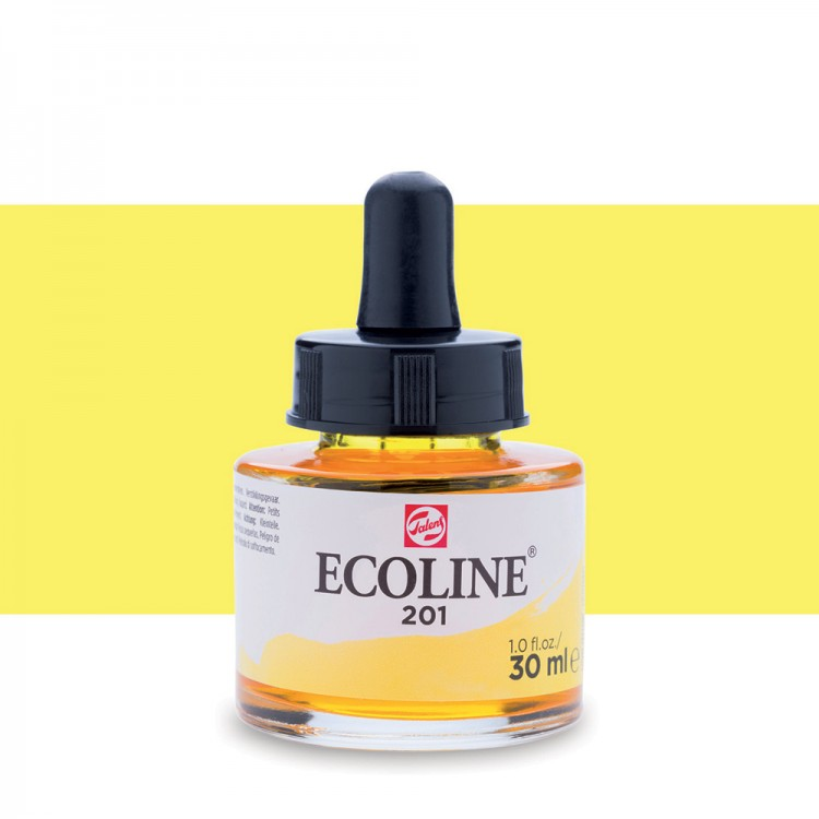 Light Yellow Ecoline Ink 30ml