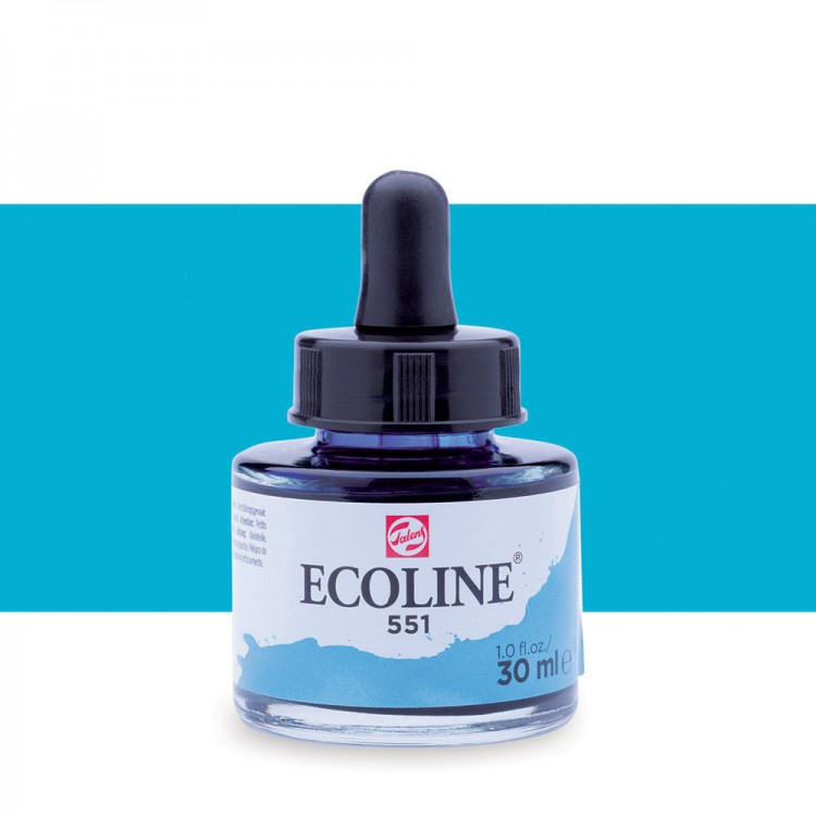 Skye Blue Light Talens Ecoline Ink 30ml