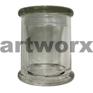 Gala Galaxy Metro Jar Medium With Clear Glass