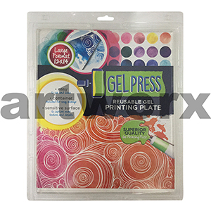 12 x 14 Inch Gel Press Jelly Printing Plate