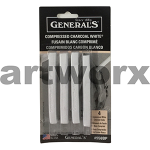 Generals Compressed Charcoal White 4pc