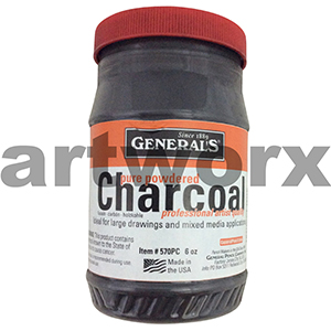 6oz Generals Pure Charcoal Powder
