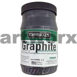 6oz Generals Pure Graphite Powder