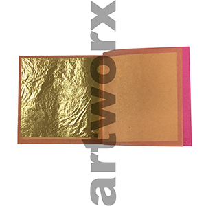 80x80mm 25pcs 24k Genuine Gold Leaf