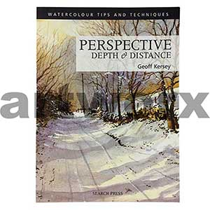 Watercolour Perspective Depth & Distance Book by Geoff Kersey
