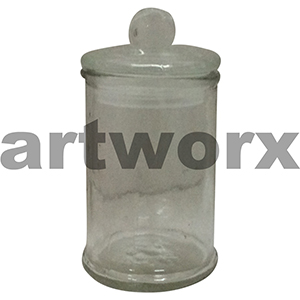 Glass Apothecary Lolly Jar Small