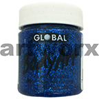 Blue Glitter Global Colours Body & Face Paint