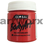Brilliant Red Global Colours Body & Face Paint