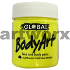 Fluro Yellow Global Colours Body & Face Paint