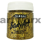 Gold Glitter Colours Body & Face Paint