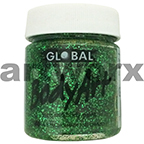 Green Glitter Global Colours Body & Face Paint