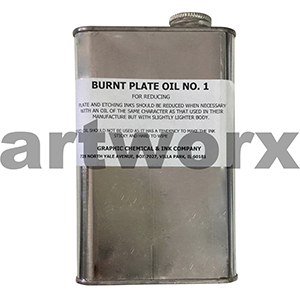 Graphics Burnt Plate Oil No.1 1pt