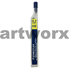 12pc 0.3mm HB Mars Micro Mechanical Pencil Leads Staedtler