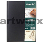 125gsm A5 64 Sheets Portrait Hardbound Sketching Journal