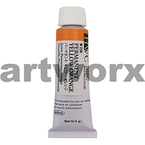 Permanent Yellow Orange sA Holbein Water Colour 15ml