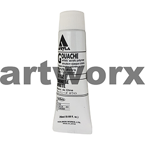 Chinese White 20ml Holbein Acryla Gouache Paint