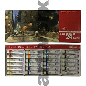 Holbein Artists' Watercolours - WC Special Edition Set of 24 5ml