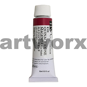 Quinacridone Magenta sC Holbein Water Colour 15ml