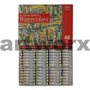 48 x 5ml Holbein Watercolour Set