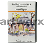 Holiday Sketch Book in Watercolour with Helen Fitzgerald DVD