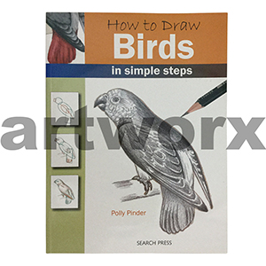 How To Draw Birds Artbook by Polly Pinder