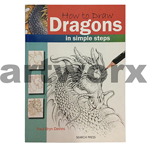 How to Draw Dragons Book by Paul Bryn Davies