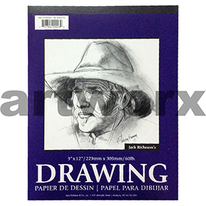 130gsm 9x12 Inch 100 Sheets Portrait Richeson's Drawing Pad