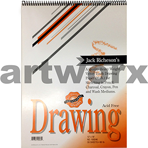 130gsm 12x18 Inch 30 Sheets Portrait Richeson's Drawing Journal