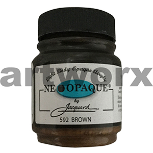 592 Brown Neopaque Acrylic Paint