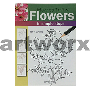 How To Draw Flowers Artbook by Janet Whittle
