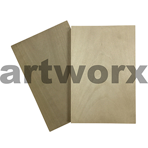 100 x 150mm Japanese Plywood Plates 10mm