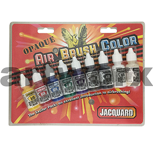 Opaque Acrylic Airbrush Ink 9x14ml Jacquard