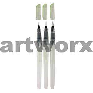 3pc Jasart Aqua Brush Set