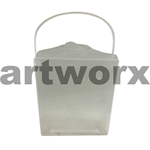 16oz Clear Jelly Pail