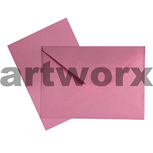 C6 Pink 12pc Jemark Envelopes & Card
