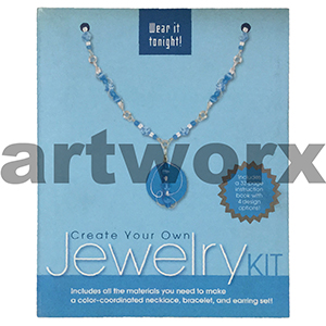 Jewelry Create Your Own Kit Blue