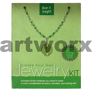 Jewelry Kit Create Your Own Green
