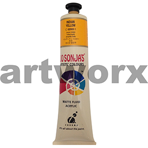Indian Yellow s1 Jo Sonja's Artist Acrylic 75ml