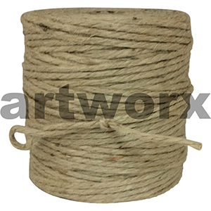Jute Heavy Natural approx 140m