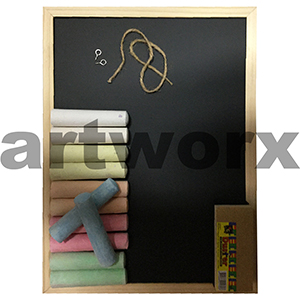 Kids Chunky Chalk, Board and Duster Set
