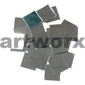 25pc 2.5cm Square Mirror